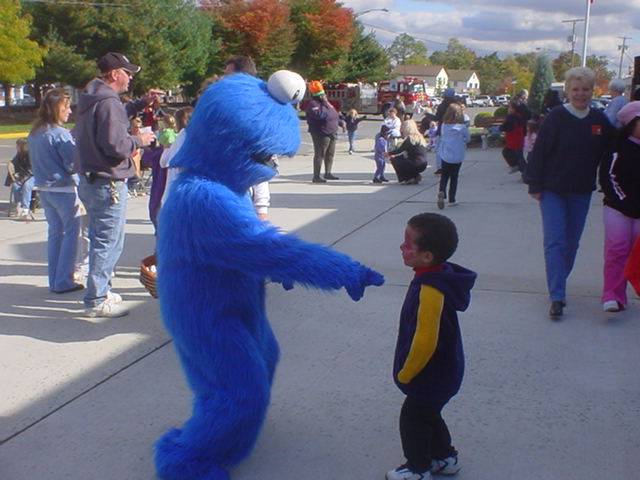 Dance with Cookie Monster!