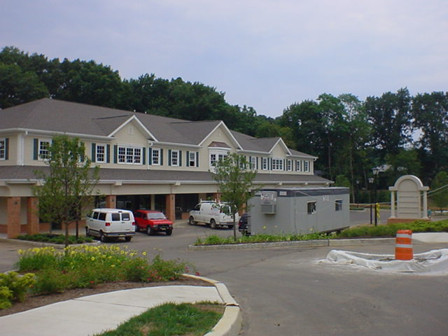 The new commerical center on Forsgate Drive
