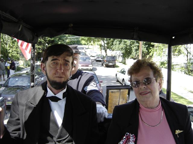 Abraham Lincoln with Marge Perrine