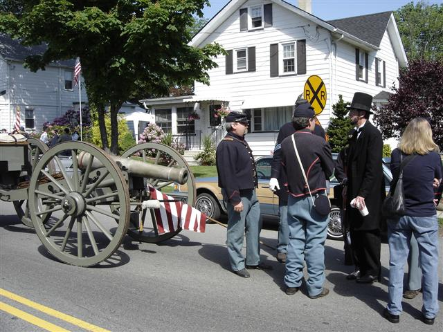 Historic Jamesburg Cannon.
