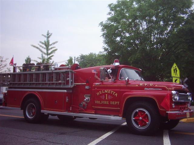 Helmetta Fire Department.