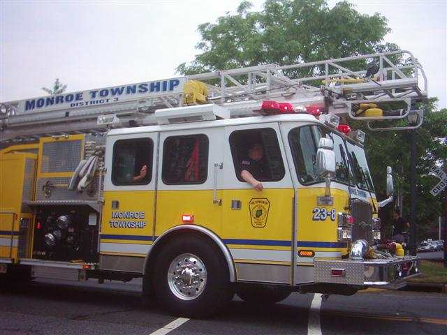 Monroe Township Fire Department.