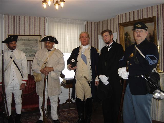 Soldiers and Presidents in Jamesburg!  Oh my!