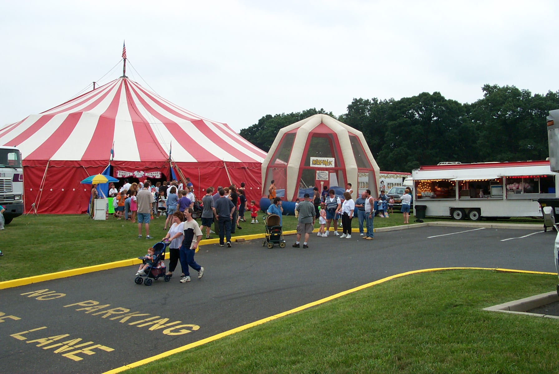 The Circus Comes to Jamesburg!