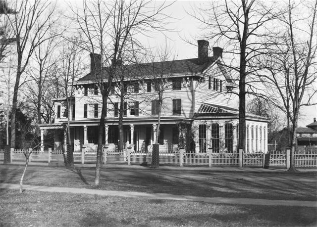 Lakeview in the late 1800's. Home of James Buckelew for whom the town of Jamesburg, NJ was named.
