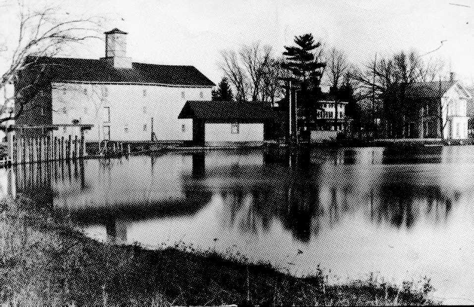 A tranquil scene in Jamesburg, NJ in the late 1800's.  